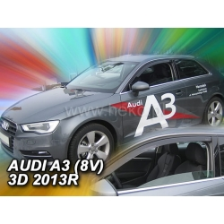 Vėjo deflektoriai AUDI A3 (8V) SPORTBACK 3 durų 2013→ (Priekinėms durims)