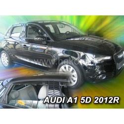 Vėjo deflektoriai AUDI A1 5 durų 2010-2018 (Priekinėms ir galinėms durims)