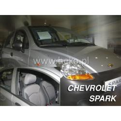 Vėjo deflektoriai CHEVROLET SPARK 5 durų Hatchback 2005-2010 (Priekinėms durims)