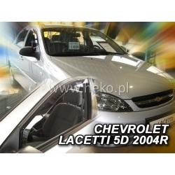 Vėjo deflektoriai CHEVROLET LACETTI 4/5 durų 2004-2011 (Priekinėms durims)