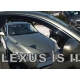 Vėjo deflektoriai LEXUS IS250 4 durų Sedan 2006-2013 (Priekinėms durims)