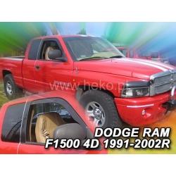 Vėjo deflektoriai DODGE RAM 1500 2/4 durų 1991-2002 (Priekinėms durims)