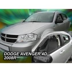 Vėjo deflektoriai DODGE AVENGER 4 durų 2008-2014 (Priekinėms durims)