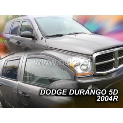 Vėjo deflektoriai DODGE DURANGO 5 durų 2004-2010 (Priekinėms durims)