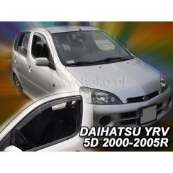 Vėjo deflektoriai DAIHATSU YRV 5 durų 2000-2005 (Priekinėms durims)