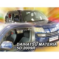 Vėjo deflektoriai DAIHATSU MATERIA 5 durų 2006-2010 (Priekinėms durims)