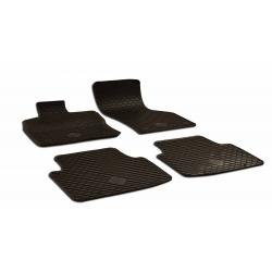 Guminiai kilimėliai CUPRA Formentor 2020→ (Su originaliais tvirtinimais, Juodos spalvos)