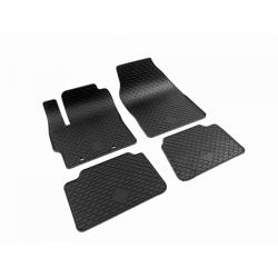 Guminiai kilimėliai TOYOTA Yaris Hybrid 2020→ (Su originaliais tvirtinimais, Juodos spalvos)